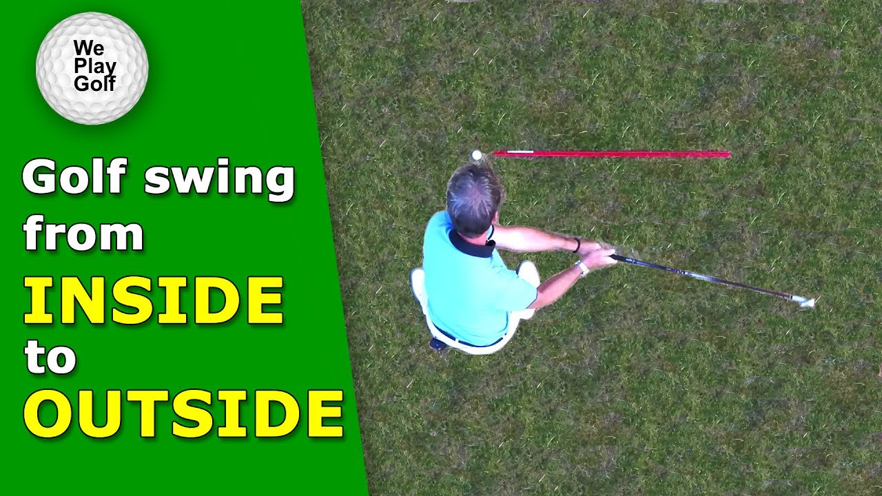 Inside Outside golf swing - How can you swing from in to out?