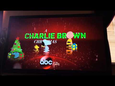 ABC - A Charlie Brown Christmas Coming Up Next Teaser For 12/24/2015