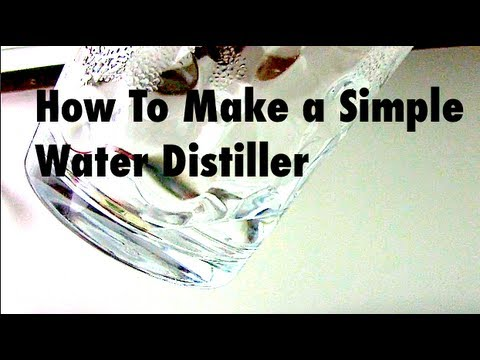 diy water distiller how to make a still distiller to
