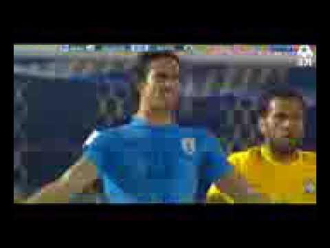 HD   Uruguay vs Brazil 1 4 highlights and all goals   23 03 2017 ELIMINATORIAS RUSIA 2018   YouTube