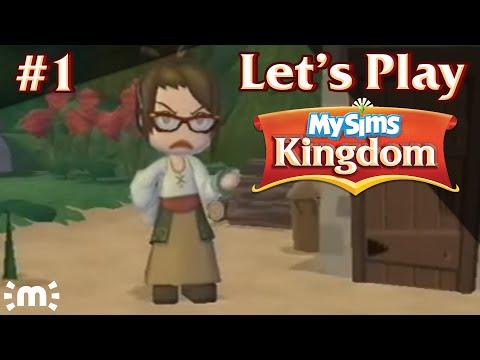my sims kingdom wii figurines
