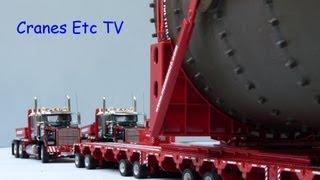 WSI Mammoet Coke Drum Move by Cranes Etc TV