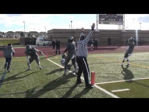 TOUCHDOWN! Brandon Brenning QB Keeper | ThunderRidge vs Grandview Football State Playoffs