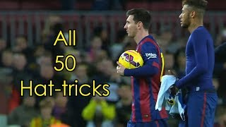 Video Lionel Messi ● All 50 Hat-tricks ● With Commentaries MP3, 3GP, MP4, WEBM, AVI, FLV April 2019
