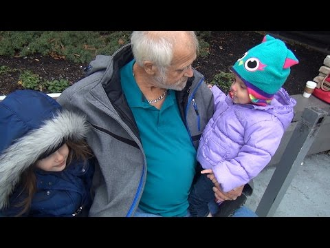 his - After nearly 10 years apart, Grandpa reunites with his daughter Kim and meets his Granddaughters for the first time..