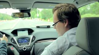 On The Road In The 2014 Acura MDX