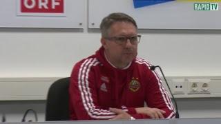 Die Pressekonferenz nach Rapid vs. St.Pölten
