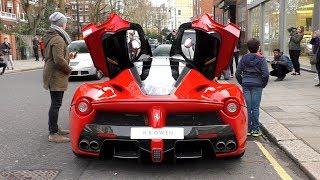 Video $2Million, 963 HorsePower Ferrari LAFERRARI on the road in London! MP3, 3GP, MP4, WEBM, AVI, FLV November 2018