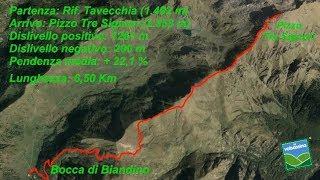 Dalla Bocca di Biandino al Pizzo Tre Signori per il rif. Grassi