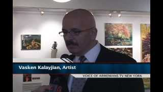 Exhibition of Armenian artists at St. Vartan Armenian Cathedral
