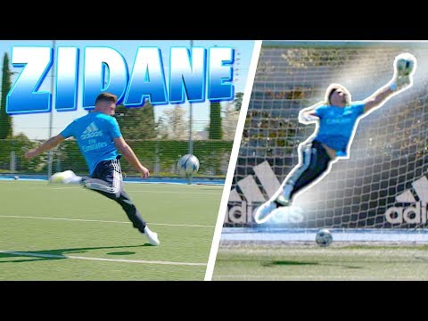 F2 VS ZIDANE | EPIC SHOOTING BATTLE!