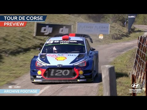 Tour de Corse Preview - Hyundai Motorsport 2018