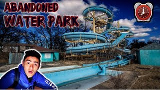 Download Lagu 24 HOUR OVERNIGHT CHALLENGE IN ABANDONED WATER PARK! Mp3