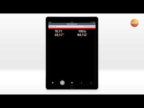 How To testo Smart Probes App. 06. Определение мест образования плесени