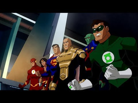 Justice League Vs. Crime Syndicate!