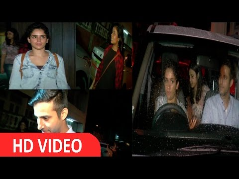 Dangal Film Star Cast Spotted At Aamir Khan House