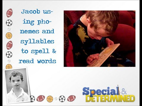 Watch video Down Syndrome: Spelling