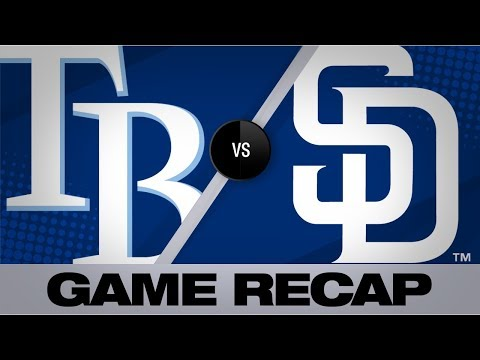 Video: Choi, Meadows homer in win | Rays-Padres Game Highlights 8/13/19