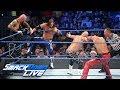foto AJ Styles & Gallows & Anderson vs. Shinsuke Nakamura & Rusev Day: SmackDown LIVE, April 24, 2018