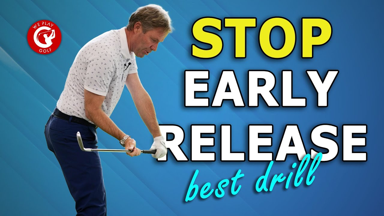How to stop your early release: A simple golf drill!
