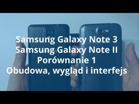 Samsung Galaxy Note 3 vs. Samsung Galaxy Note 2 Porównanie 1z3 Obudowa, wygląd i interfejs