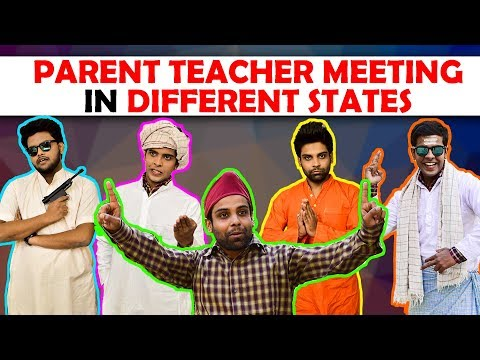 Parent Teacher Meeting in Different States   The Half-Ticket Shows