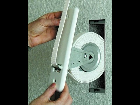 Come sostituire la corda della tapparella-How to replace the roller shutter rope