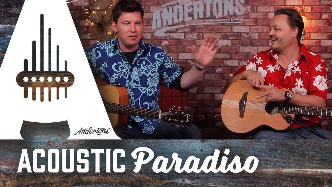 Acoustic Paradiso – Faith Nomad Mini Guitars – A Great Travel Guitar.