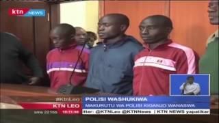 Makurutu Wa Polisi Washikwa Kwa Kuhusika Na Uuzaji Wa Bangi Huko Nyeri