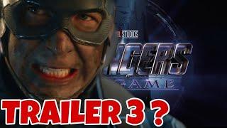 Avengers Endgame Trailer 3 Update - Real Or Not?