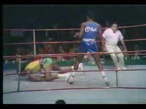 Boxen: Teofilo Stevenson - Cuba's Mister Boxing - PanAm ...