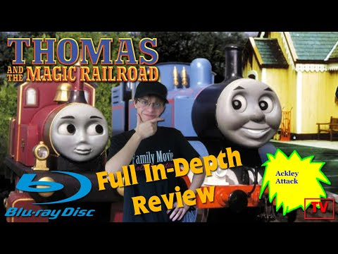 Thomas and the Magic Railroad 20th Anniversary Edition Blu-ray: A Full In-Depth Review