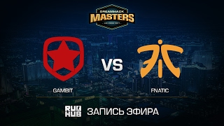 Gambit vs fnatic - DH Las Vegas - de_inferno [yxo, Enkanis]