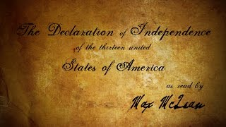 Video The Declaration of Independence (as read by Max McLean) MP3, 3GP, MP4, WEBM, AVI, FLV November 2018