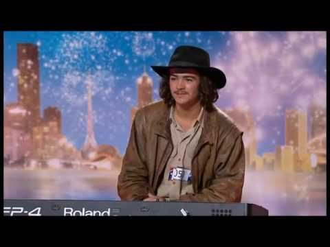 got - Australia's Got Talent 2011 Audition show 1 Sixteen year country boy Chooka makes up a piano song on the spot. Chooka improvise in the A minor tonality at a ...