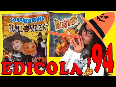 EDICOLA #94: HALLOWEEN Busta Sorpresa & Scherzi da Paura (unboxing by Giulia Guerra) (видео)