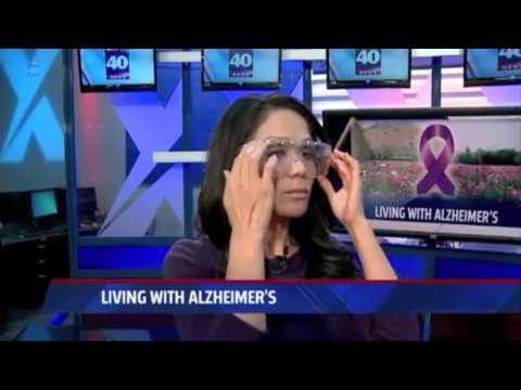 Alzheimer's Sensitivity Demonstration (FOX40 Sacramento)