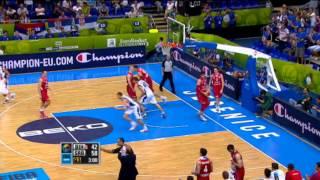 Highlights Bosnia Herzeg.-Serbia EuroBasket 2013