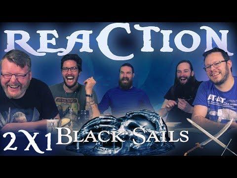 "Black Sails 2x1 REACTION!! ""IX."""