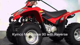 10. Kymco Mongoose 90