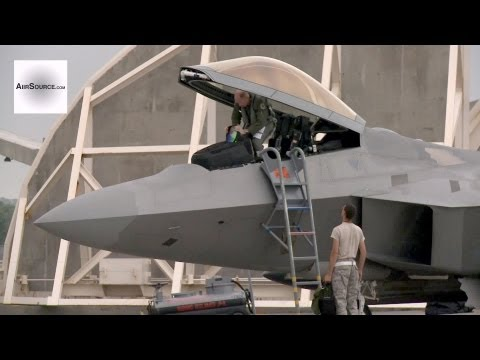Footage of F-22's at Kadena Air...