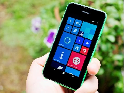Nokia Lumia 530 unboxing and hands on impressions