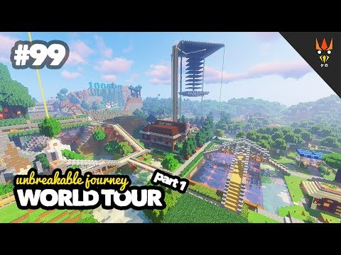 WORLD TOUR part 1 - Minecraft Indonesia #99