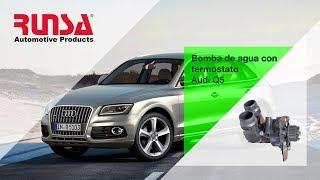 Bomba de agua con termostato Audi Q5 2012