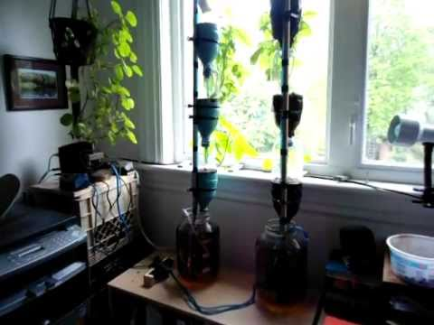 How to Build a Hydroponic Window Farm - Part 1 of 2