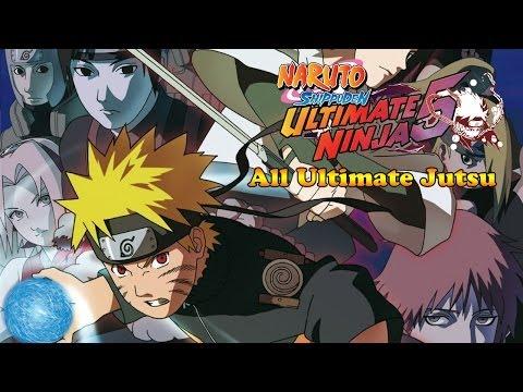 naruto shippuden ultimate ninja 5 para playstation 2 trucos