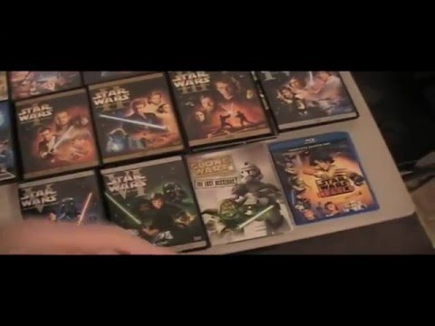 My Star Wars Collection (25 movies + 5 video games)