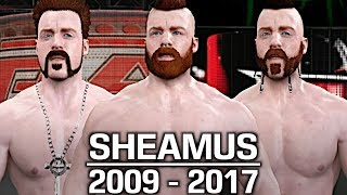 We take a look at the evolution of Sheamus from 2009 to 2017!Show some love by leaving a like, sharing and subscribing for more awesome videos like these!OUTRO MUSIC: Undertaker's Rollin Theme Cover by JAYDEGARROWJAYDEGARROW's YouTube: https://www.youtube.com/channel/UCit4zHRRYaU5Og8ZHqvA7jQFOLLOW ME HERE:Facebook: https://www.facebook.com/julian.rosado.14Twitter: https://twitter.com/Jules1451Instagram: https://www.instagram.com/jules1451/Snapchat: @Jules1451Want to see more WWE 2K16 & WWE 2K17 Content? Visit this link for more! http://www.thesmackdownhotel.com