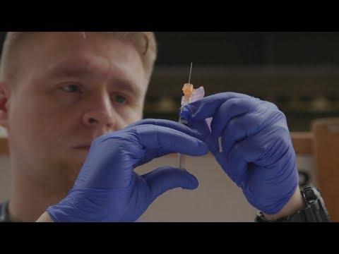 Researchers chase a better fix for the seasonal flu (видео)