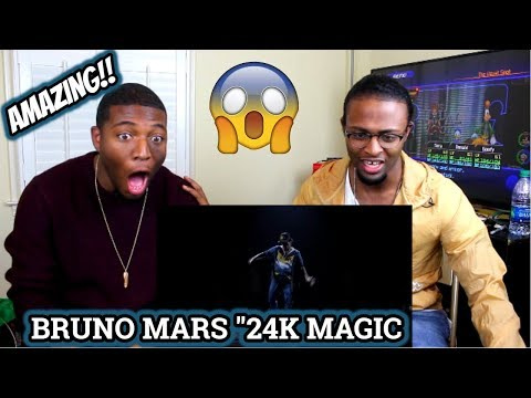 Bruno Mars - 24K Magic [American Music Awards Performance] (REACTION)